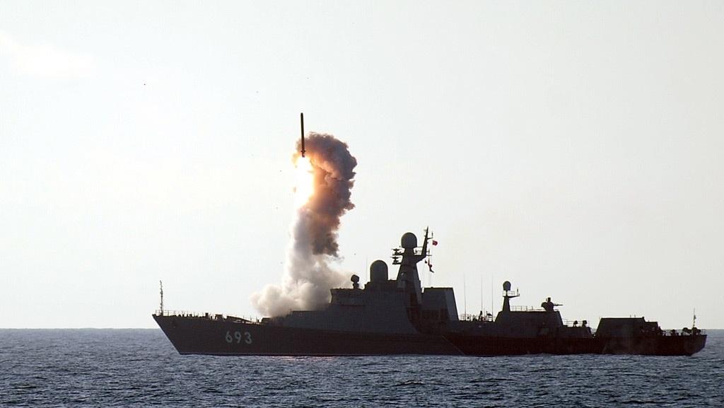 Dagestan được đưa vào biên chế Hạm đội Caspian năm 2012 (Ảnh: Sputnik)