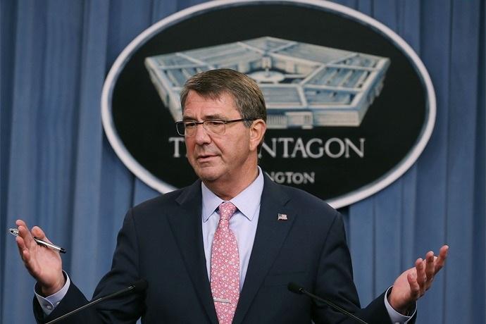 Bộ trưởng quốc phòng Mỹ Ash Carter (Ảnh: AP)