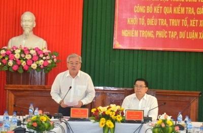 Tổng Thanh tra Chính phủ kiểm tra về công tác phòng chống tham nhũng tại tỉnh Quảng Ngãi.