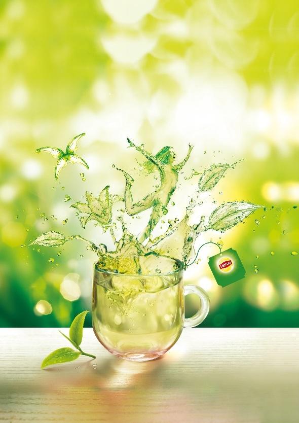 Trà xanh Lipton 100% từ thiên nhiên với nguồn nguyên liệu đảm bảo cùng quy trình chế biến riêng