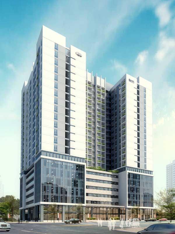 Bản vẽ mô phỏng chung cư HUD3 Nguyễn Đức Cảnh sau khi hoàn thiện