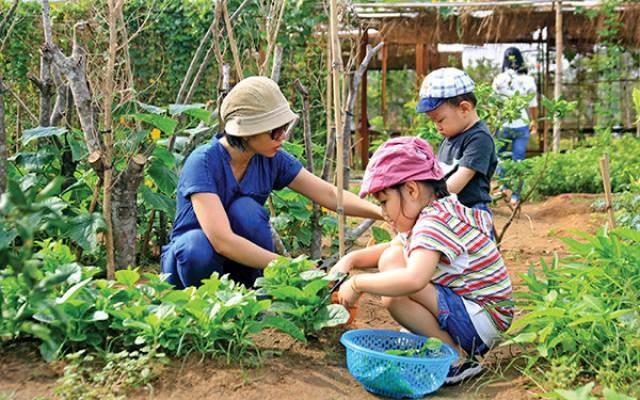 4 bước để mẹ dạy bé yêu thiên nhiên ngay tại nhà - 1