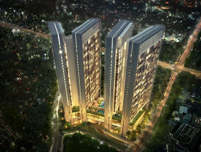 Thiết kế giàu tính thẩm mỹ của Dolphin Plaza. Chủ đầu tư: Công ty Cổ phần TID, số 4 Liễu Giai, Ba Đình, Hà Nội. Hotline: 0934776668. Website: http://dolphinplaza.com.vn.