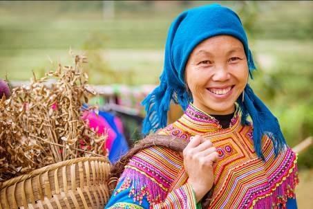 Những bức ảnh 'nụ cười Việt Nam' rạng rỡ trên khắp nẻo đường - 1