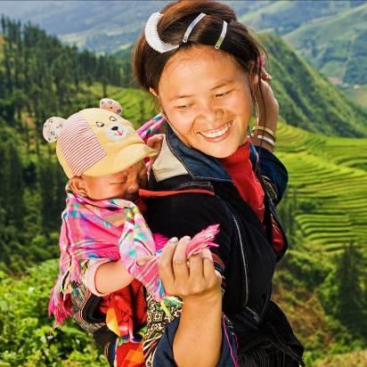 Những bức ảnh 'nụ cười Việt Nam' rạng rỡ trên khắp nẻo đường - 9
