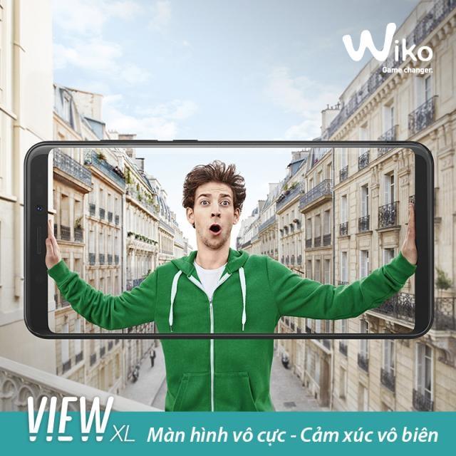 Wiko đã tận dụng tối đa màn hình vô cực của View XL để biến chiếc smartphone này trở thành một trợ thủ đắc lực cho người dùng