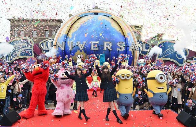 Universal Studios Japan là 1 trong 2 công viên chủ đề lớn nhất Châu Á (Nguồn ảnh: Universal Studios Japan™)