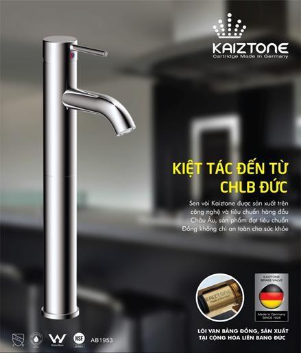 Sen vòi Kaiztone chất lượng châu Âu – giá thành châu Á