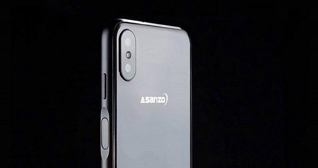 Thiết kế của Asanzo S3 Plus mang phong cách hiện đại và cá tính và cảm ứng vân tay cạnh bên