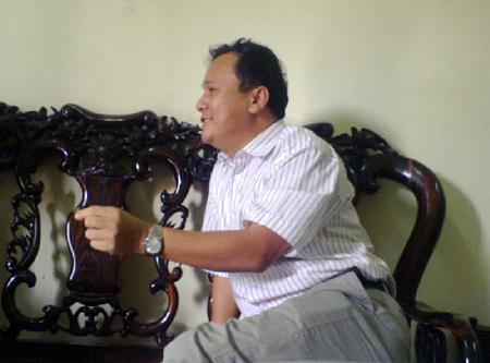 Ông Phạm Ngọc Quyết, Chánh Thanh tra Sở GTVT Hà Tĩnh