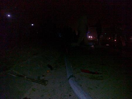 Hiện trường vụ tai nạn làm 2 thanh niên đi chơi tết chết thảm