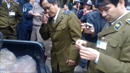 Lực lượng QLTT Hà Tĩnh kiểm tra, tịch thu toàn bộ lô hàng trên