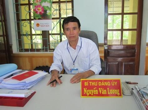 Ông Nguyễn Văn Lương: Chúng tôi rất lấy làm tiếc vì đã để xẩy ra sự việc trên