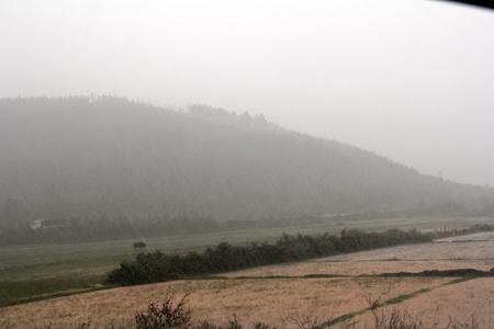 Núi Rồng, nơi an nghỉ cuối cùng của Đại tướng Võ Nguyên Giáp trong cơn mưa nặng hạt sáng nay