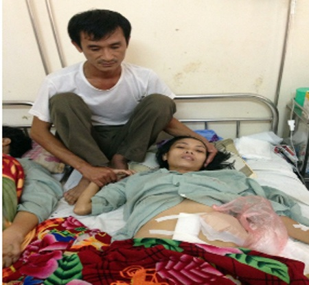 Anh Dương đau đớn bên người vợ bị ung thư