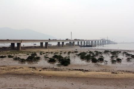 Cầu Cửa Nhượng (Hà Tĩnh) sau khi hoàn thành sẽ trở thành cây cầu dài thứ 2 tại Miền Trung
