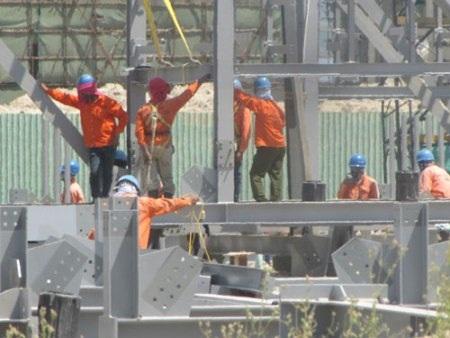 Công nhân lao động tại Khu công nghiệp Formosa