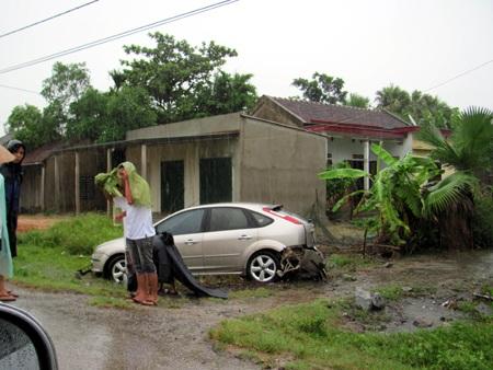 Hà Tĩnh: 3 thanh niên tử nạn trong mưa bão - 1