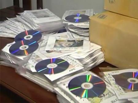 Lực lượng chức năng đã phát hiện số lượng rất lớn đĩa DVD có nội dung đồi trụy - Ảnh minh họa