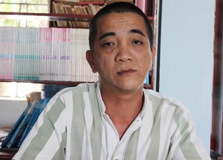 Phạm nhân Nguyễn Hải Hoàn.