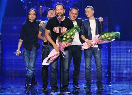 Hạc San trên giành giảnh thưởng của Bài Hát Việt do VTV tổ chức
