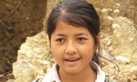 Pàn Thị Triệu - cô học sinh mồ côi hiếu học