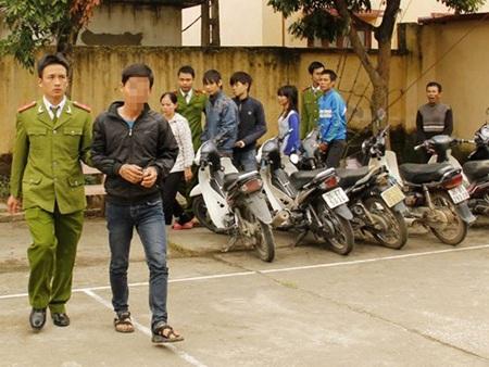Nạn trộm cắp xe máy tại Hà Nội ngày càng gia tăng (ảnh minh họa)