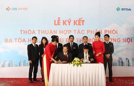 STDA sẽ là đơn vị phân phối độc quyền 3 tòa H, J, K – Khu đô thị mới Dương Nội