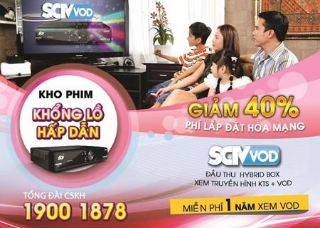 Xem giới thiệu về dịch vụ SCTV-VOD tại: