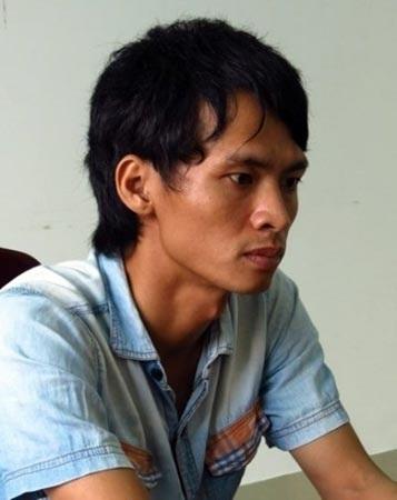 Hung thủ giết người đồng tính Trần Văn Điểm.