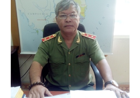 Trung tướng KSor Nham.