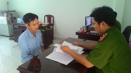 Hồ Thanh Lâm tại cơ quan điều tra