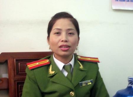 Quản giáo Trần Thị Huyền.