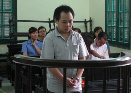 Bị cáo Trần Thanh Bình khi tòa tuyên án