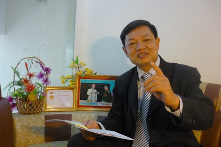 Luật sư Hoàng Ngọc Biên, Chủ tịch Hội CCB Đoàn luật sư Hà Nội