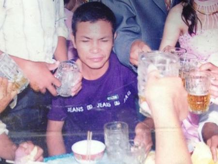 Nguyễn Hữu Giáp khi vẫn còn khỏe mạnh, tỉnh táo