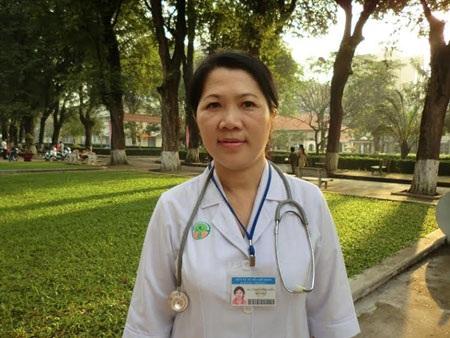 Bác sĩ Nguyễn Thị Thanh, trưởng khoa Nội I, Bệnh viện Nhi đồng II