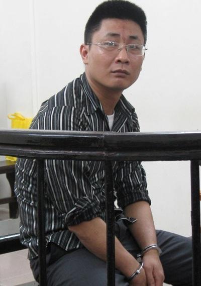 Hà Anh Tuấn tại phiên tòa ngày 5-6