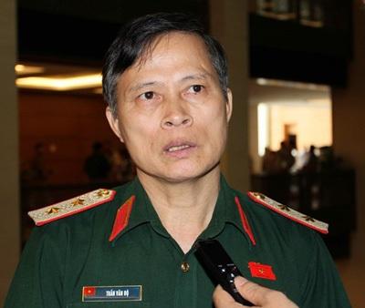 Trung tướng Trần Văn Độ (Ảnh: HT)