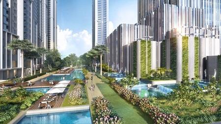 Khu đô thị Vinhomes Central Park sẽ chính thức hoàn thiện vào năm 2017.