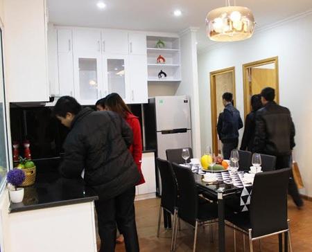 Buổi lễ thu hút hơn 500 khách hàng đến thăm quan căn hộ mẫu
