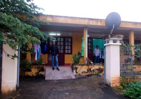 Khu nội trú giáo viên Trường THPT Quang Trung ở thị trấn P'rao (huyện Đông Giang, Quảng Nam)