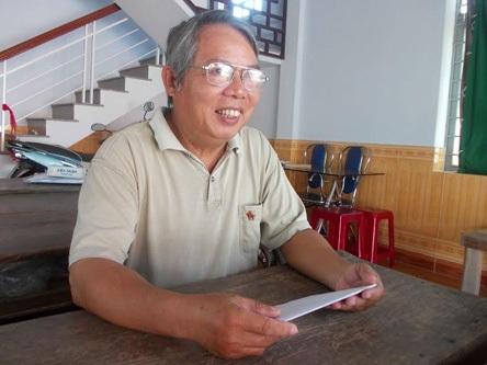 Thầy giáo Trần Văn Nhân kể chuyện chiến trường