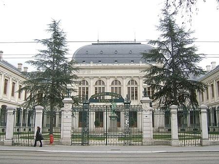 Khuôn viên Trường Đại học Lyon 2 (Pháp)