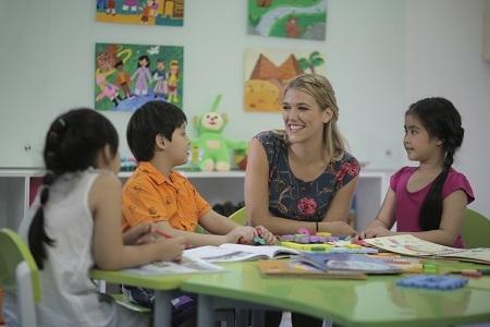 Du học sinh tri ân giáo viên tiếng Anh