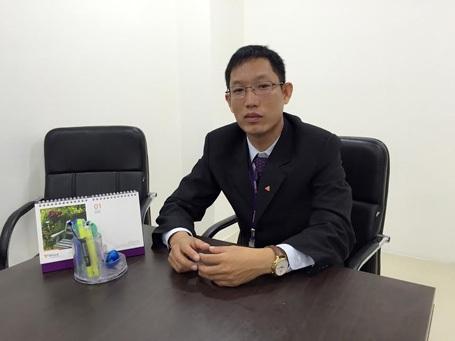 Ông Nguyễn Minh Trung – Giám đốc mảng tín chấp – Trung tâm bán miền Nam đại diện TPBank