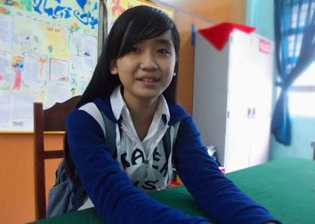 Em Bùi Thị Tú Trinh nhiều năm liền là học sinh giỏi