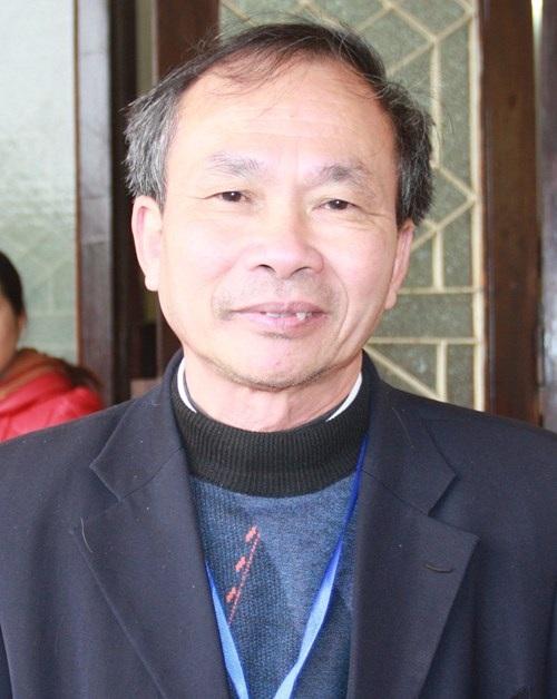 Thầy Cao Văn Tiến - Hiệu trưởng Trường THPT Gang Thép (Thái Nguyên