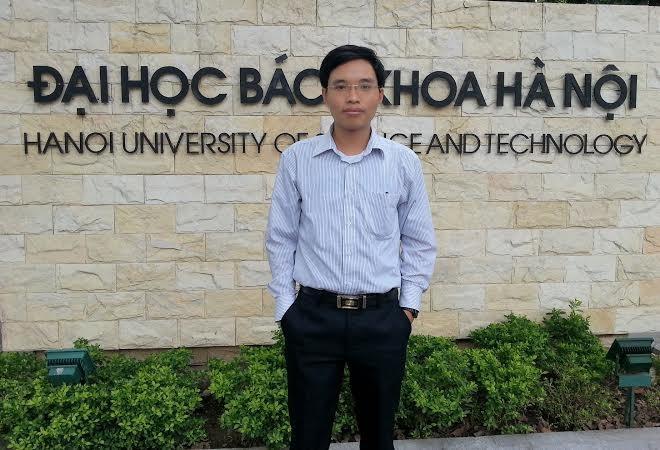 Dương Văn Lạc hiện là giảng viên Trường ĐH Bách khoa Hà Nội
