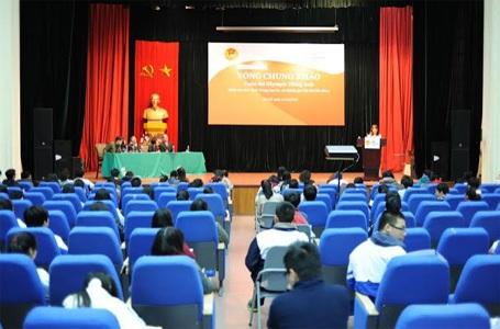 Lễ khai mạc vòng chung khảo Olympic Tiếng Anh THCS